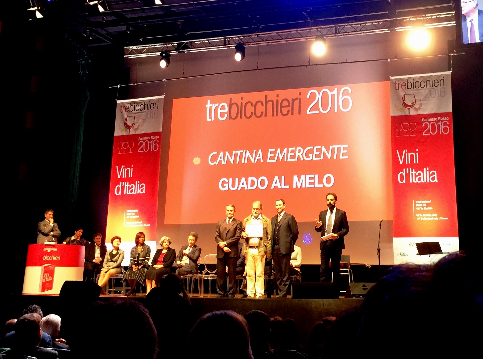 Gambero Rosso Prize-giving 2