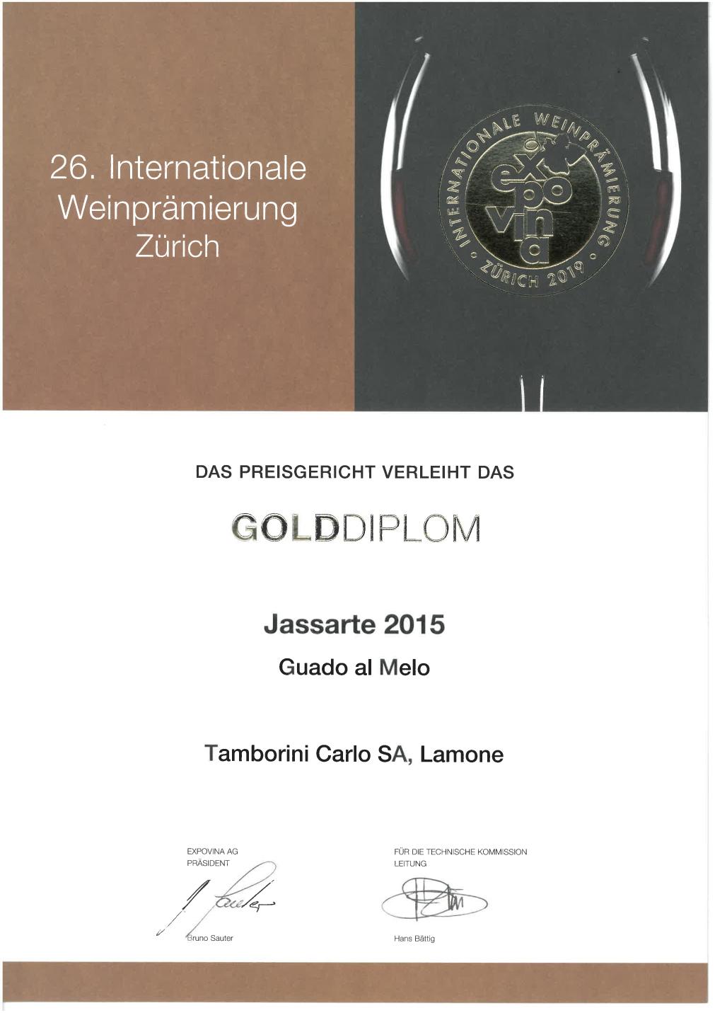 Jassarte 2015 - Expovina 2019