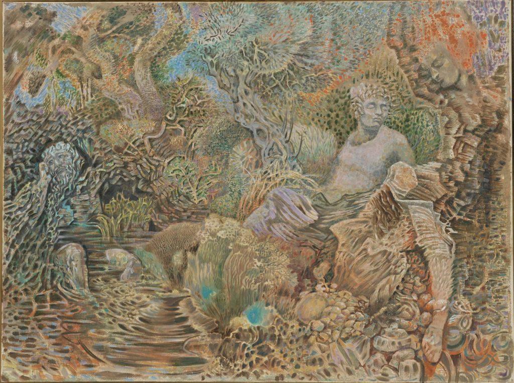 Hatzikyriakos-Ghika Nikos, Genii Loci, 1970
