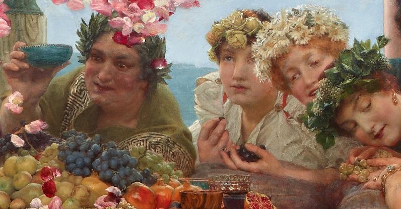 The_Roses_of_Heliogabalus Alma Tadema 1888 dettaglio