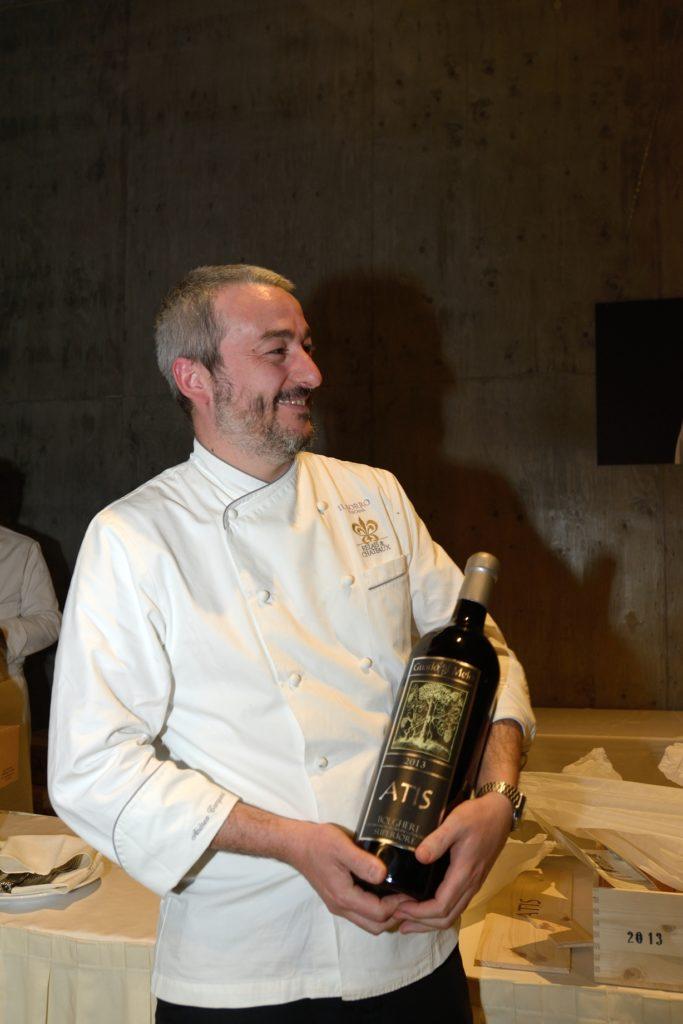 Andrea Campani – chef de Osteria del Borro – San Giustino Valdarno (AR)