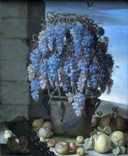 494px-Still_Life_with_Grapes_and_Other_Fruits_by_Luca_Forte,_Getty_Center