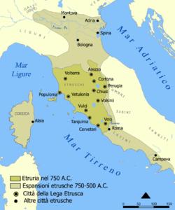 espansione etrusca
