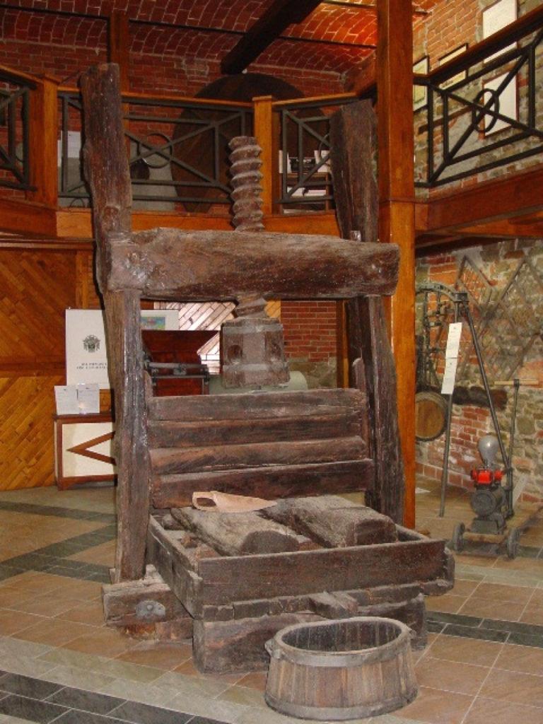 museo di Toso torchio di Plinio